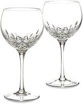Waterford Stemware Lismore Essence Balloon Wine Glasses, Set of 2