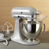 Crate & Barrel KitchenAid ® Artisan Matte Grey Stand Mixer