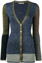 Christopher Kane lurex cardigan - women - Nylon/Polyester/Metallized Polyester/viscose - M