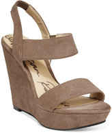American Rag Audria Two-Piece Platform Wedges, Only at Macy's