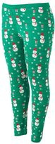 It's Our Time Juniors' Plus Size Graphic Holiday Leggings