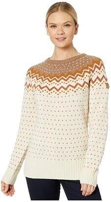 Fjallraven Ovik Knit Sweater (Dark Navy) Women's Sweater