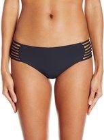 Roxy Women's Strappy Love Reversible Shorty Bikini Bottom
