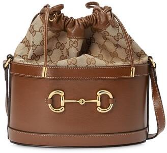 Gucci small 1955 Horsebit bucket bag