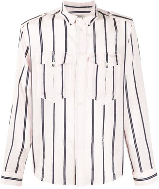 Isabel Marant Striped Button-Down Shirt
