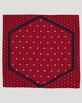 Jonathan Adler Honeycomb Square Silk Scarf