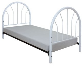 Acme Silhouette Twin Headboard Only, White