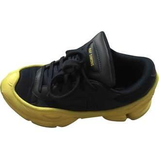 Raf Simons Adidas X Ozweego 2 Black Leather Trainers