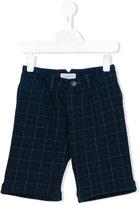 Paolo Pecora checked chino shorts - kids - Cotton/Spandex/Elastane - 6 yrs