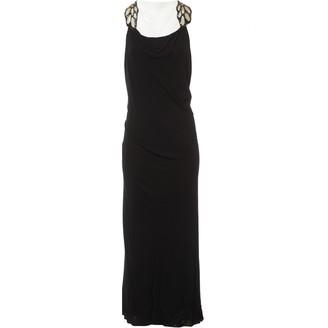 Jay Ahr Black Viscose Dresses