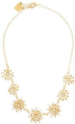 Rosantica Arcadia Starburst Crystal Choker Necklace - Womens - Gold