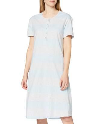 Schiesser Women's Sleepshirt 1/2 Arm 100cm Nightie