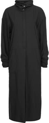 Tibi Twill Hooded Midi Dress