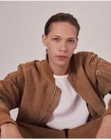 Rag & Bone Suede manston jacket