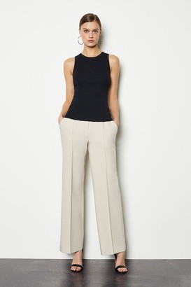 Karen Millen Tailored Track Style Trousers