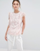Ted Baker Zania Lace Top
