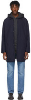 Levi's Levis Made And Crafted Levis Made and Crafted Navy LMC Drovers Coat