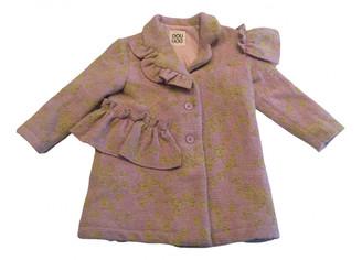 Douuod Pink Synthetic Jackets & Coats