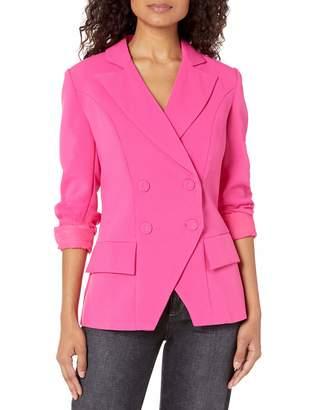 Elliatt Women's Apparel Women's Opulent Double Breasted Fashion Blazer