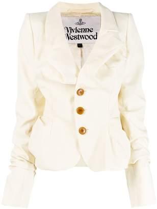 Vivienne Westwood ruched button jacket