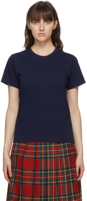 COMME DES GARÇONS GIRL Navy Girl T-Shirt