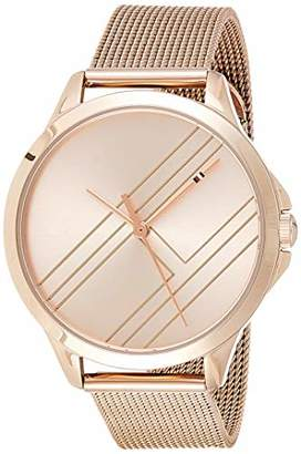Tommy Hilfiger Womens Analogue Classic Quartz Watch with Rose Gold Strap 1781963