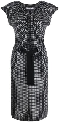 Christian Dior 2000s Pre-Owned Slim-Fit Dress