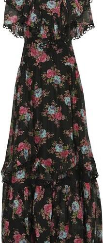 Erdem Mauricia cotton and silk long dress