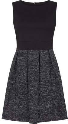 Yumi Textured Skater Dress