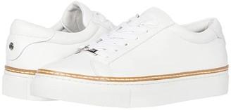J/Slides Leyla (White Leather) Women's Shoes
