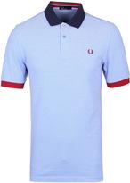 Fred Perry Light Smoke Block Pique Polo Shirt