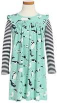Tea Collection Girl's Seabirds Print Dress