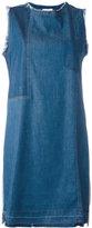 Semi-Couture Semicouture denim sleeveless dress