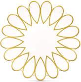 Coton Colors Scallop-Edge Gold Salad Plate