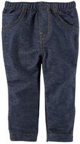 Carter's Knit-Like Denim Pants