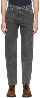 A.P.C. Black Faded Martin Jeans