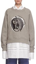Burberry Women's Graphic Print Sweatshirt