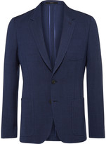 Paul Smith - Blue Slim-fit Unstructured Wool Blazer