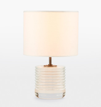 Rejuvenation Small Cut Crystal Table Lamp