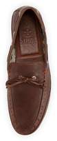 Vince Camuto Mariro Leather Boat Shoe, Brown