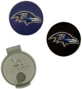 Unbranded Baltimore Ravens Hat Clip & Ball Markers Set