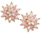 Nina 'Flower' Crystal Stud Earrings