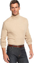 John Ashford Big and Tall Long-Sleeve Turtleneck Interlock Shirt