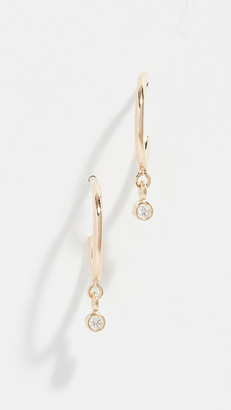Zoë Chicco 14k Gold Tiny Huggie Hoop Earrings