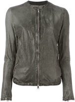 Giorgio Brato collarless zip jacket