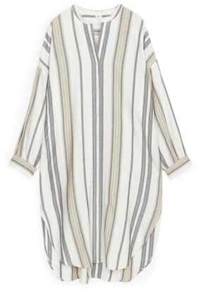 Arket Striped Kaftan Dress