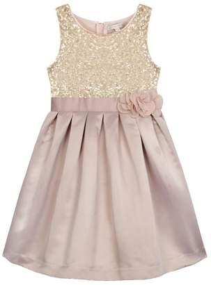 RJR.John Rocha - Girls' Gold Sequin Bodice Dress