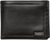 Billabong Scope 2 In 1 Leather Wallet Black