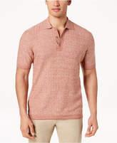 Tasso Elba Island Men's Lightweight Textured Polo, Created for Macy's
