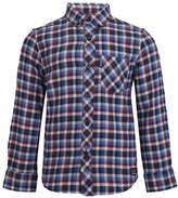 Ben Sherman Brushed Gingham Cotton Collared Shirt